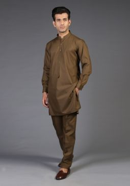 Classic Poly Viscose Military Slim Fit Suit