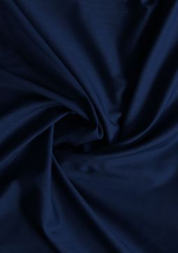 Women Federal Blue Poly Viscose Unstitched Fabric